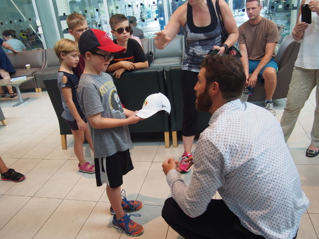NHL player Brandon Prust donates $100,000 to iSee Vision at St. Joseph's Health Care London