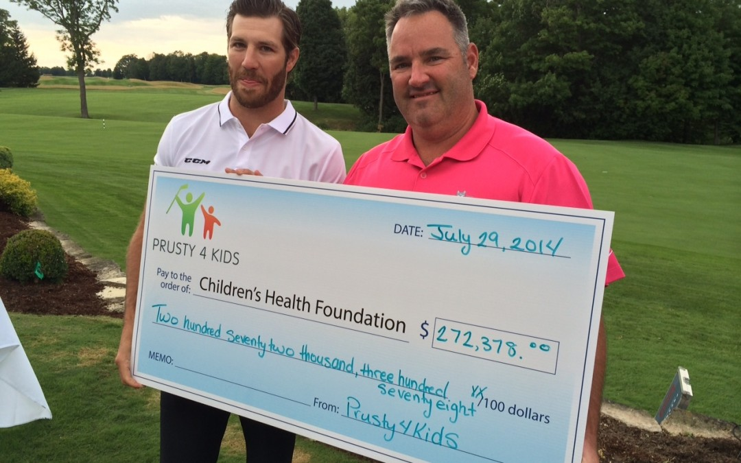 Prusty4Kids Charity Golf Tournament raises $272,378 for Heroes' Circle programming